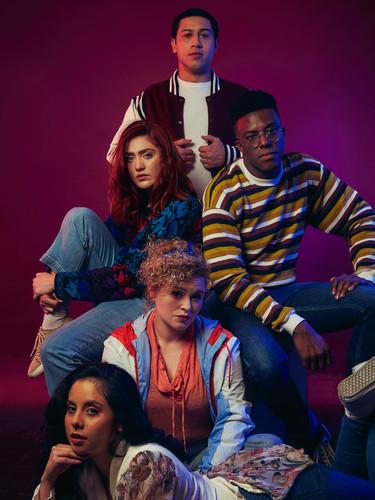 The Group   The Fallen TV Series   Ruben Delgado, Abigail Reed, Lewis E. Woods, Rachael Quinn, Alejandra Pulido   Ranee Vespi Photography