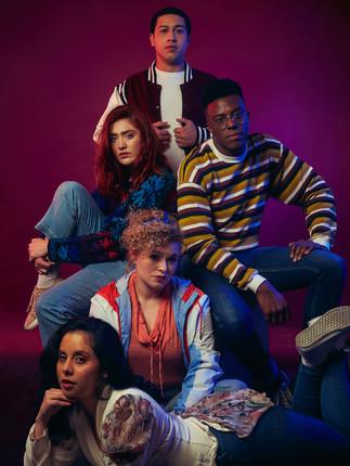 The Group | The Fallen TV Series | Ruben Delgado, Abigail Reed, Lewis E. Woods, Rachael Quinn, Alejandra Pulido | Ranee Vespi Photography