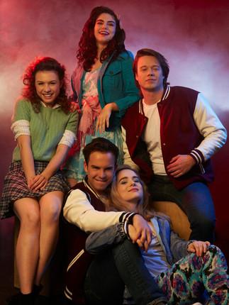 The Populars | The Fallen TV Series | Alexa Moffo, Emily Abeles, Allen Williamson, Thomas Archer, Taylor Lyons | Ranee Vespi Photography