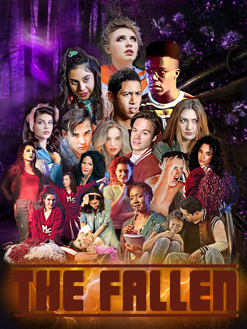 The Fallen TV Series Official Poster