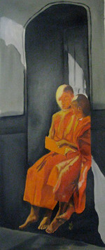 Studing Young Monks