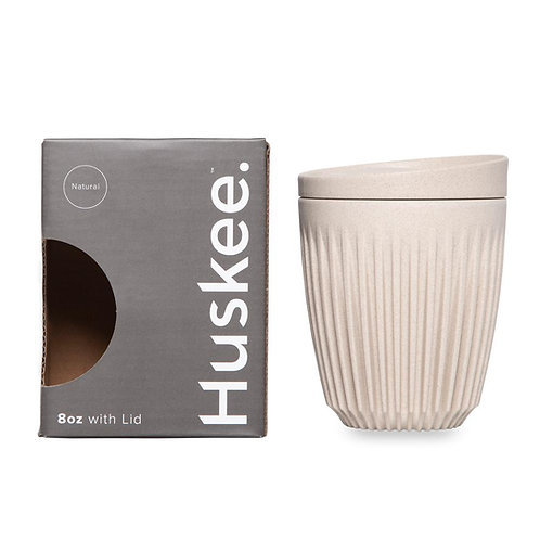 8oz Huskee Cup, Natural Colour