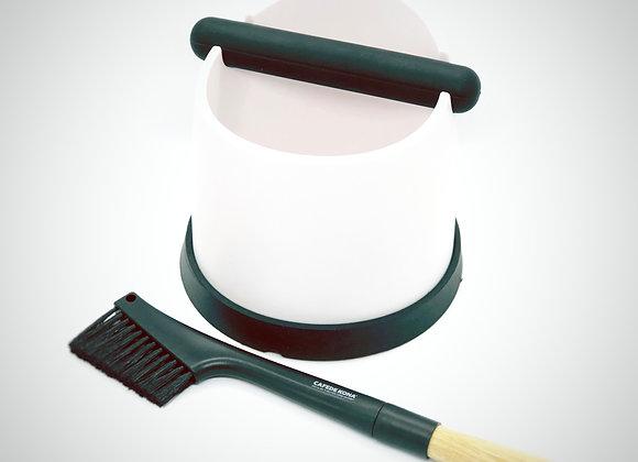 Knock Box with Brush