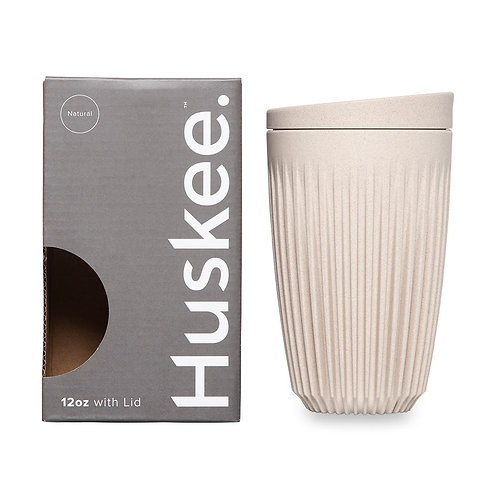12oz Huskee Cup, Natural Colour