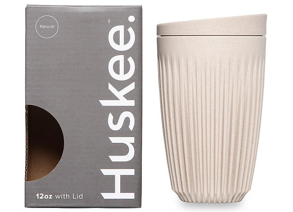12oz Huskee Cup, Natural Colour
