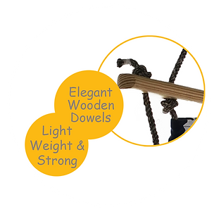Strong Wooden Dowel-cuddlyCoo