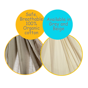 Soft Breathable Organic Cotton-CuddlyCoo