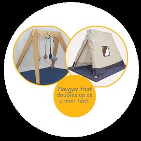tent gym-cuddlycoo