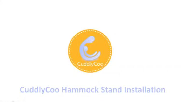 hammock installation-CuddlyCoo