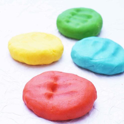 CuddlyCoo Natural Play Dough - 2 colours
