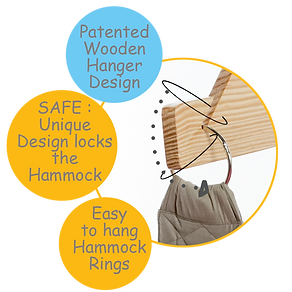 Patented Wooden Hanger -CuddlyCoo