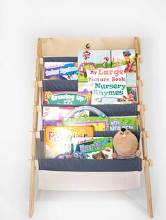 folding bookshelf-cuddlycoo
