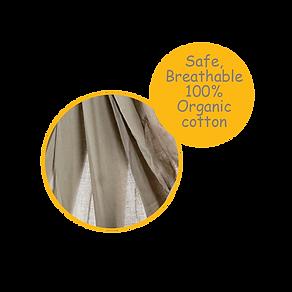 Soft Breathable Organic Cotton-CuddlyCoo