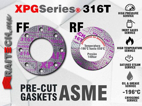 Juntas / Gaskets RAITECH XPG316T Juntas de Grafito con placa Perforada 316L