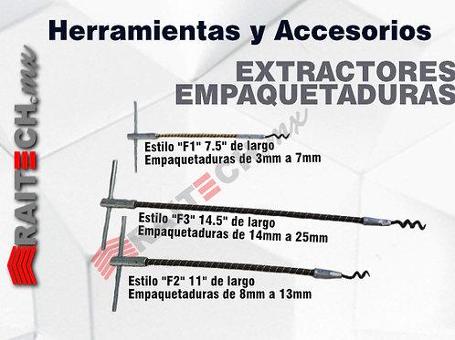 Extractores Flexibles de Empaquetaduras RAITECH