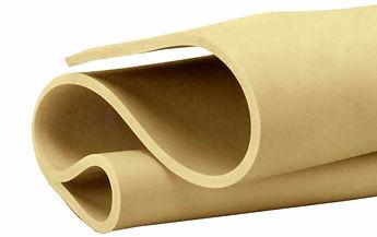 rollos placas y hojas de hule AMBAR anti abrasion