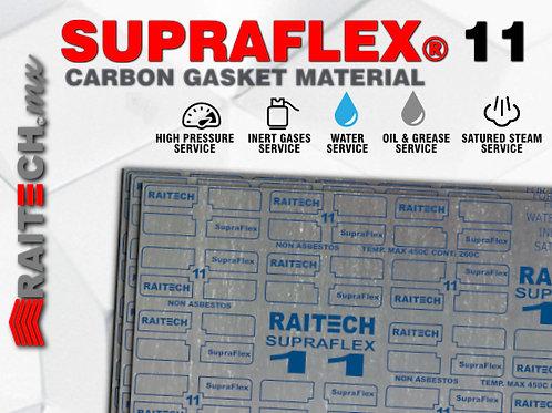 Empaque Laminado Carbon / NBR RAITECH Supraflex 11 Non-Asbestos