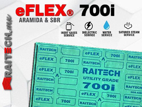 Hoja o Pliego Libre de Asbesto RAITECH eFlex 700i Aramida/SBR