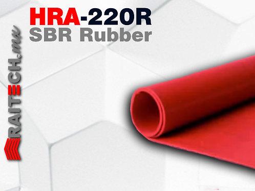 Rollo / Hoja de Hule SBR Rojo HRA-220R (Hule rojo)
