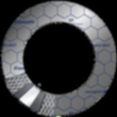 packung fur hochdruck empaque laminado de grafito expandido para altas presiones , frenzelit novaphit MST CON MALLA, para juntas y empaques industriales