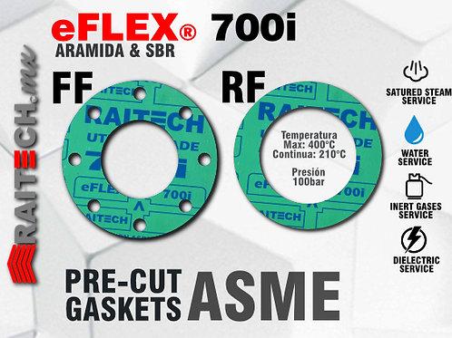 eFLEX 700i Non Asbetos Cut-Gaskets / Gaskets - Juntas para bridas