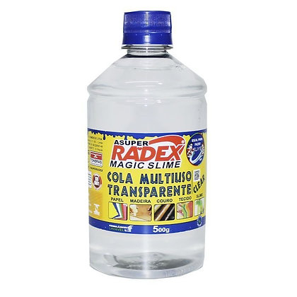 Cola Multiuso Transparente 500g Radex