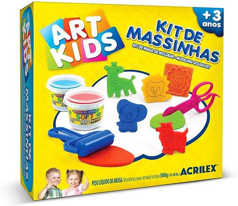 Kit de Massinhas Acrilex 300g