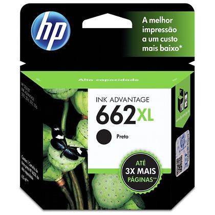 Cartucho HP 662 XL 6,5mL