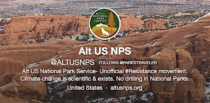 Alt US NPS: Climate change is scientific & exists.  No drilling in National Parks.  altusnps.org