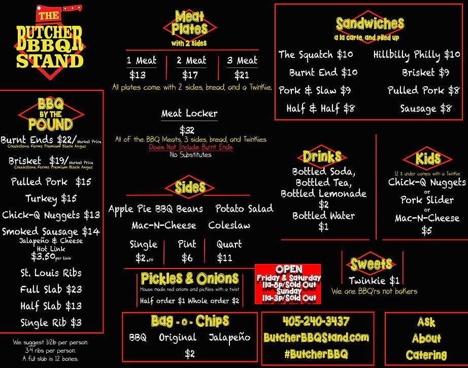 MENU | butcher-bbq-stand