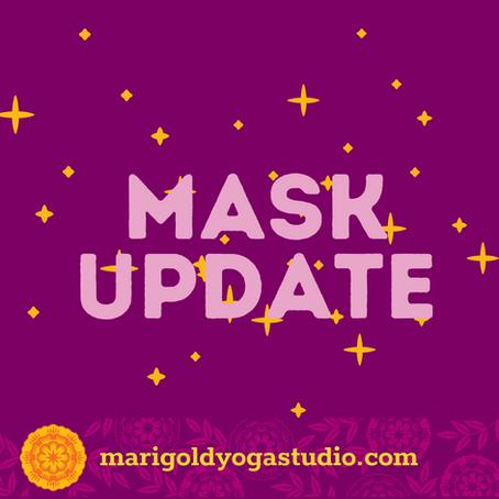 Mask and Studio Update