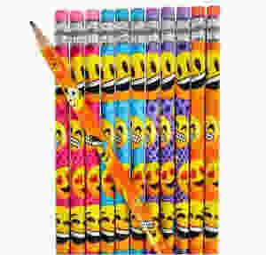 Fun Emoji pencils