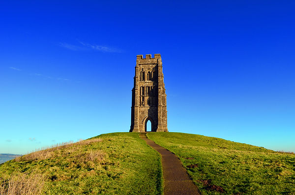 St Michaels Mount, Glastonbury Tor.jpg