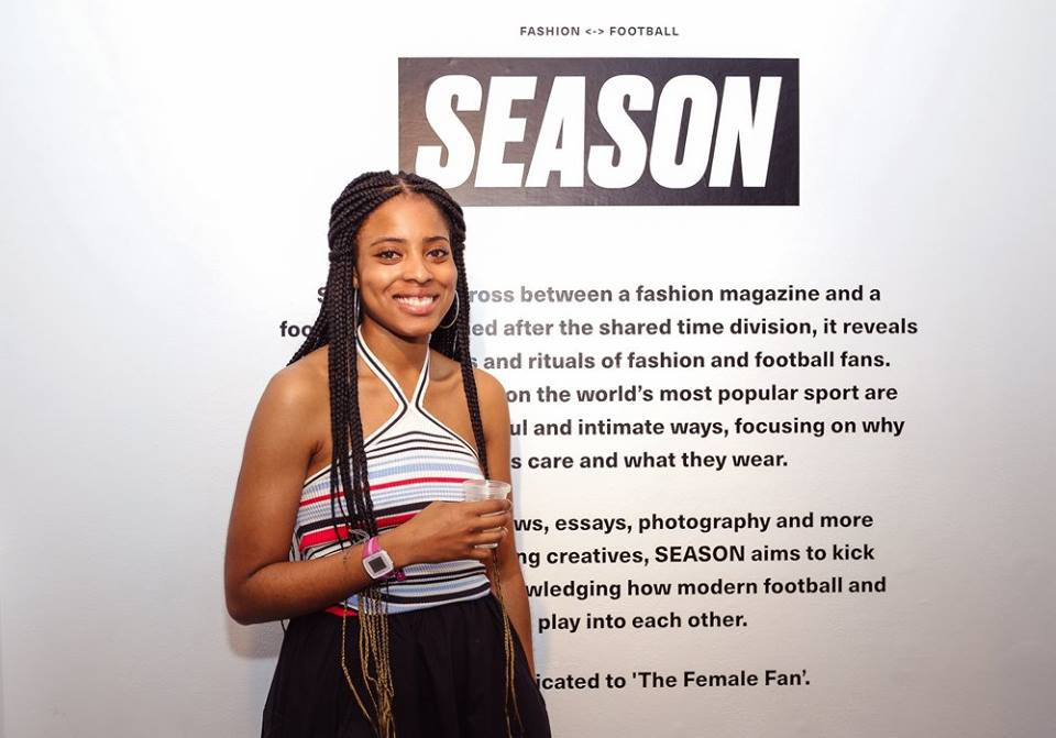 Felicia Pennant, Editor-in-Chief of SEASON zine