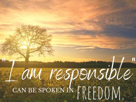 Reclaiming The Lost Art of Personal Responsibility