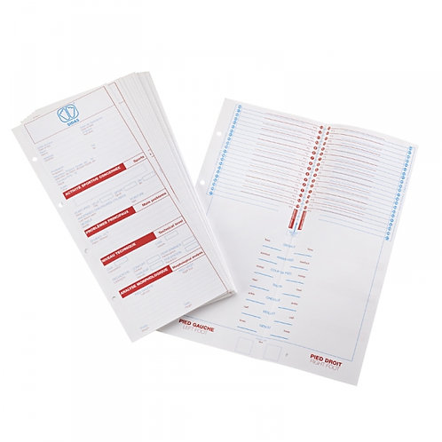 50 FEUILLES AUTOPODOPRINT (COUSE50F)