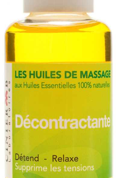 HUILE DECONTRACTANTE 100% naturelle