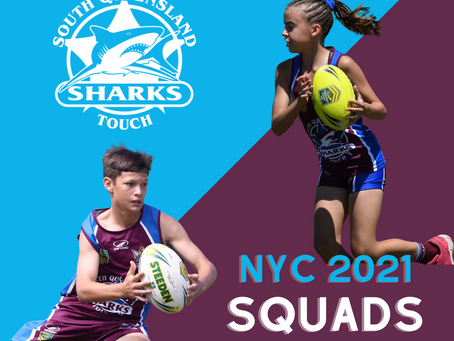 NYC 2021 Squads - South Queensland Sharks