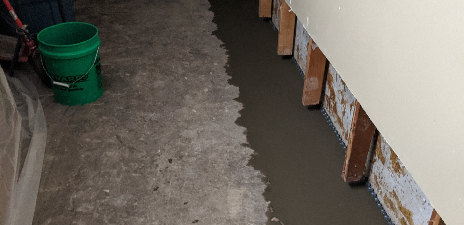 COMPLETED - Interior Tile Drain System