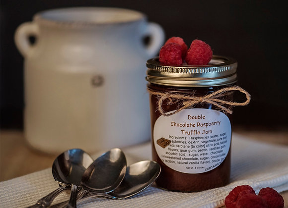 Double Chocolate Raspberry Truffle Jam