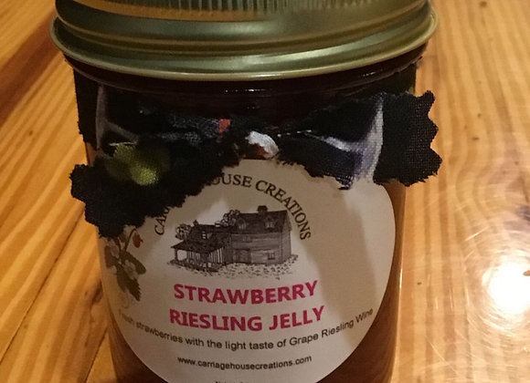 Strawberry Riesling Jelly