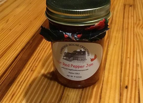 Hot Red Pepper Jam