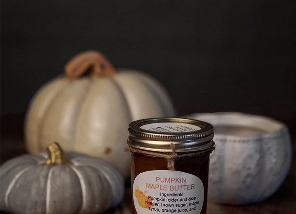 Pumpkin Maple Butter
