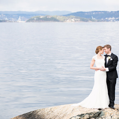 Vårlig brudepar