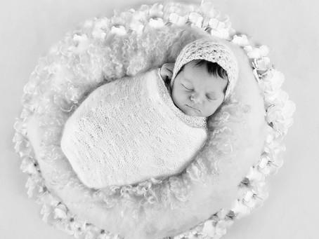 En Oslojente på Nyfødtfotografering
