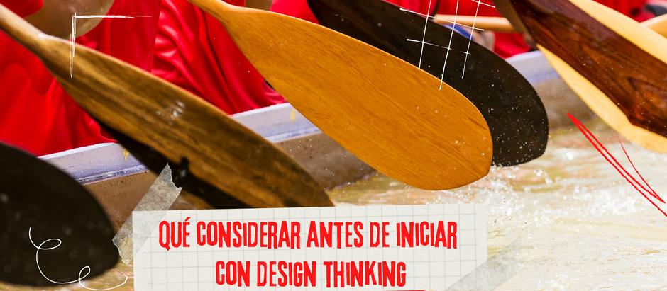 En sus marcas, listos y arranca con Design Thinking