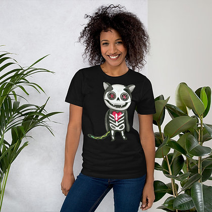 Voodoo Cat Short-Sleeve Unisex T-Shirt