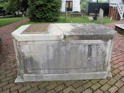 Robert Rose Monument left side