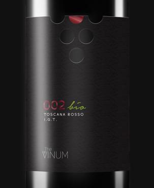 002 | Toscana Rosso IGT | The Vinum
