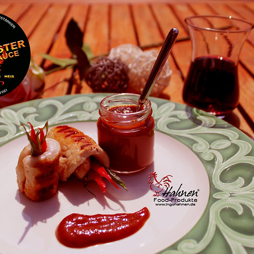 Red Rooster-BARBQ GRILL SAUCE im 200 g Glas
